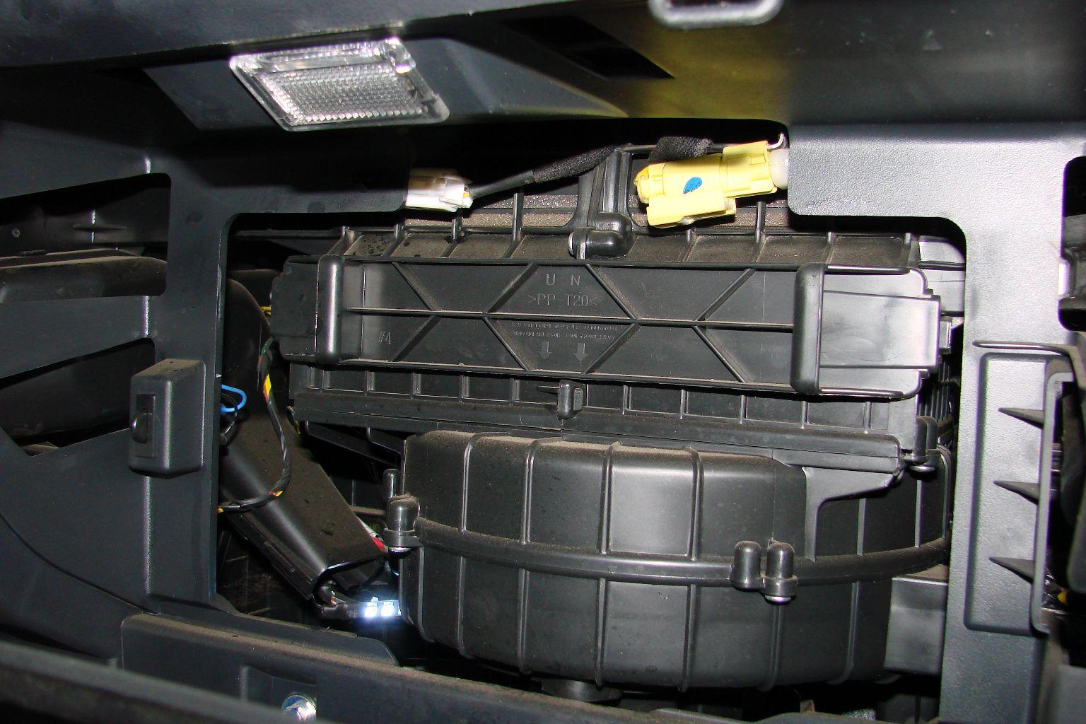 Чистка кондиционера в машине своими руками
