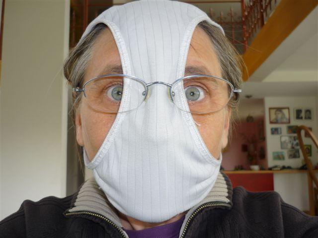повязка от гриппа