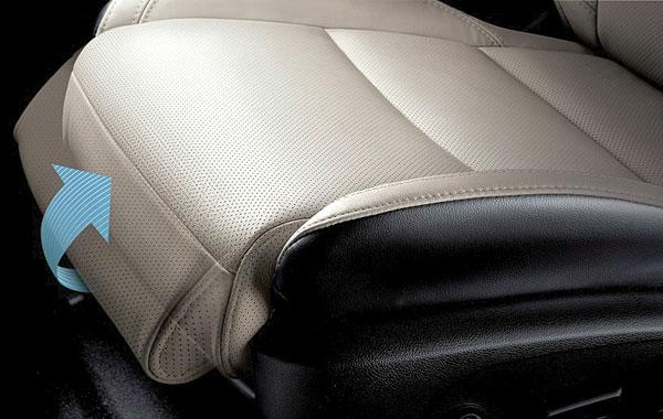 Дополнительная подушка водительского кресла для ног приходится кстати в долгих поездках